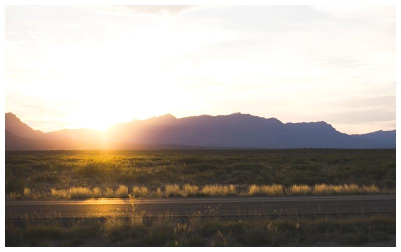 sunset marfa, texas