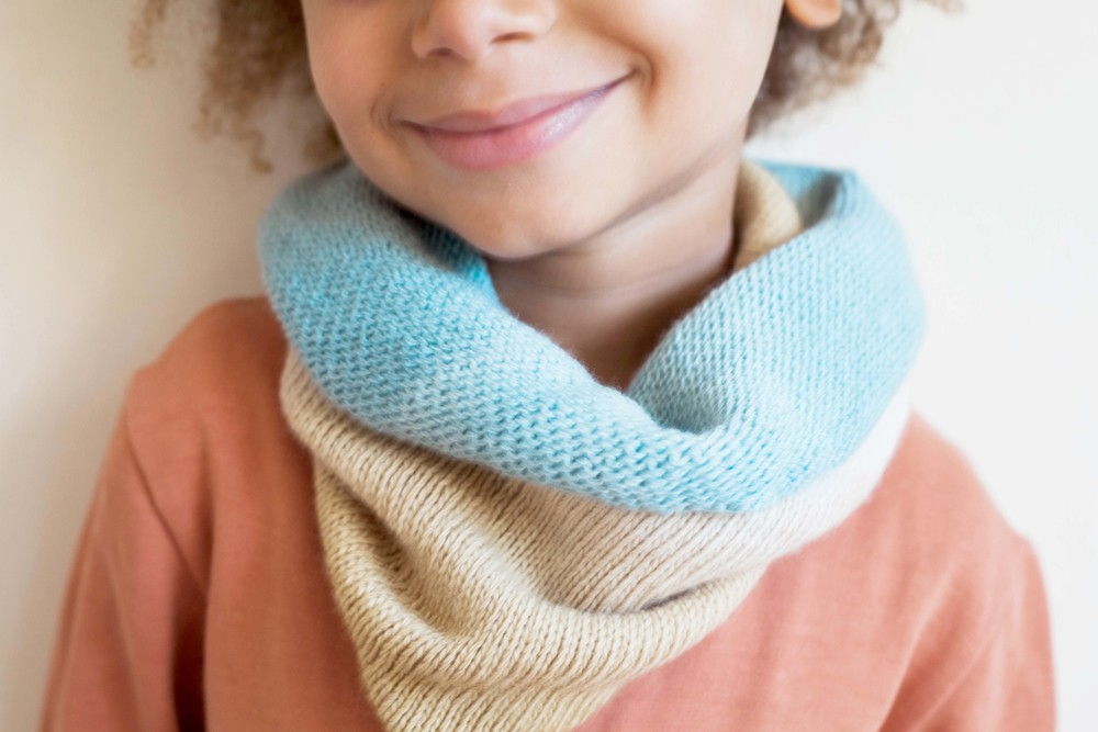 Merino Wool Snood from MamaOwl.