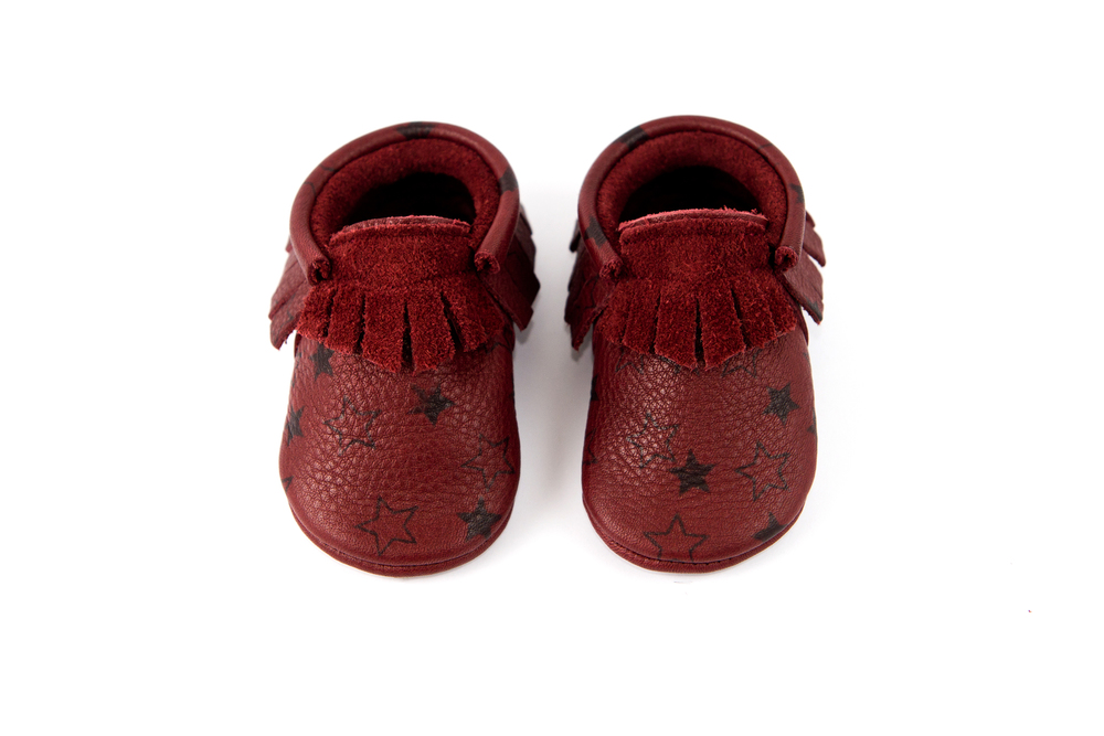 Limited Edition Oxblood Moccasins from Amy & Ivor