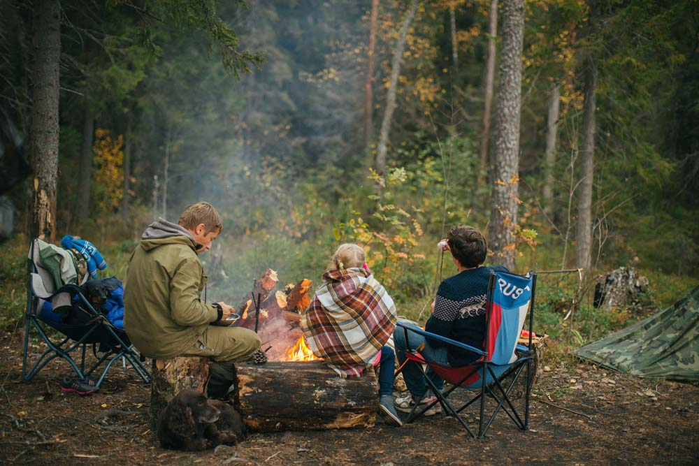 Wildling Magazine family camping
