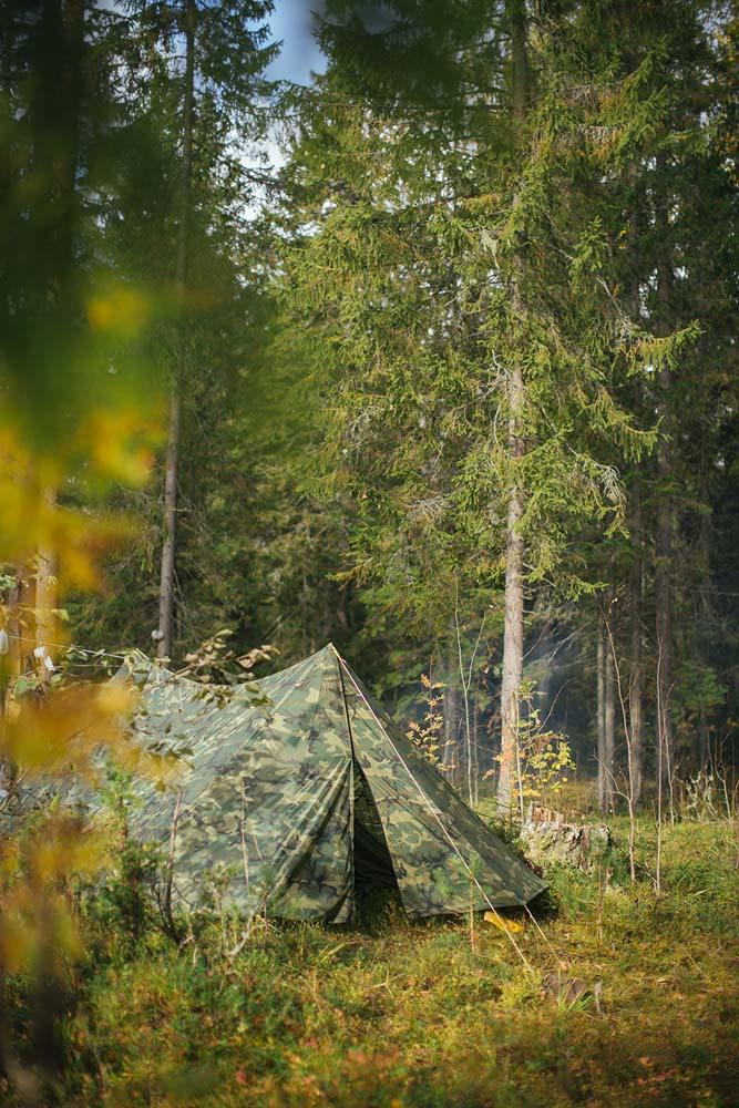Olga Pechkurova family camping