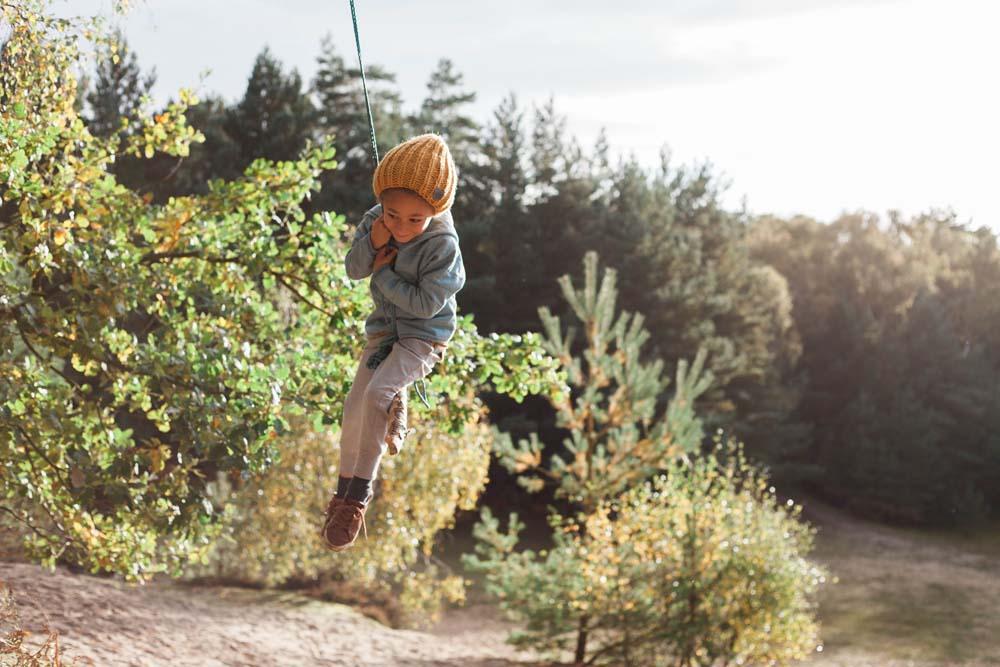 Rope swing Rebecca Lindon