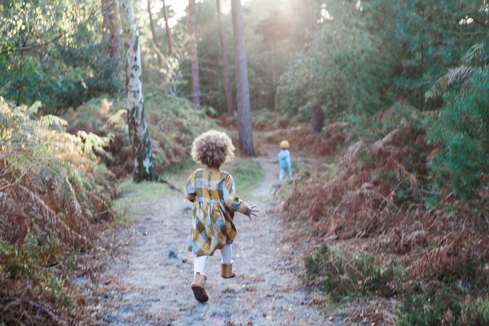 Children in the woods