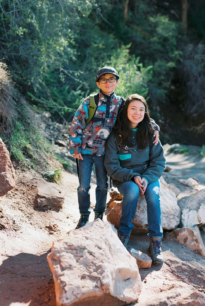 Grand Canyon family hike