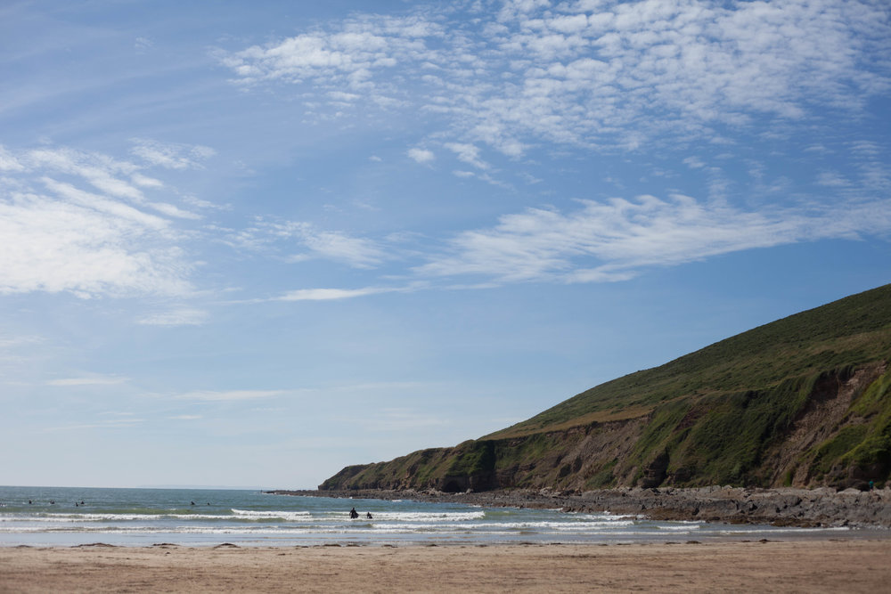 Saunton Sands in Devon