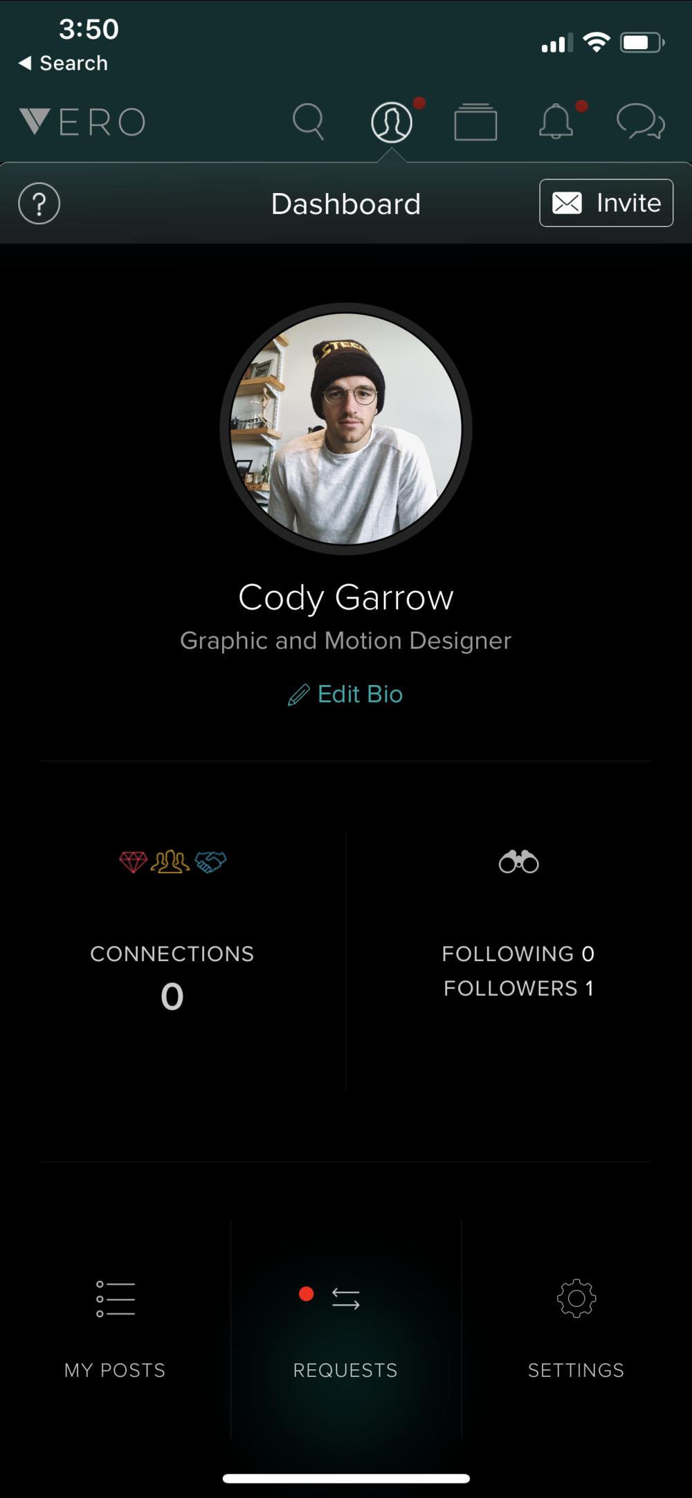 Vero Cody Garrow Profile