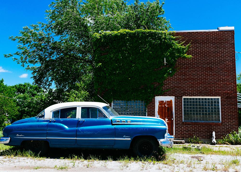 The abandoned buildingsof Elk Falls, Kansas