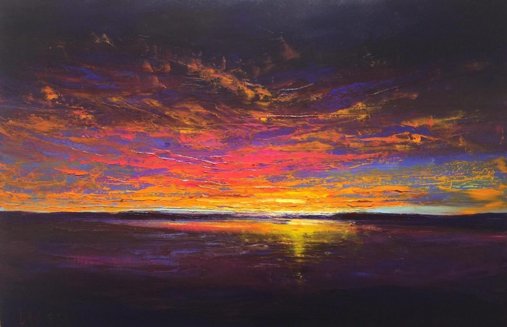 Lindy Duguid WieseEvening Encore - This is an oil painting on canvas that is 24