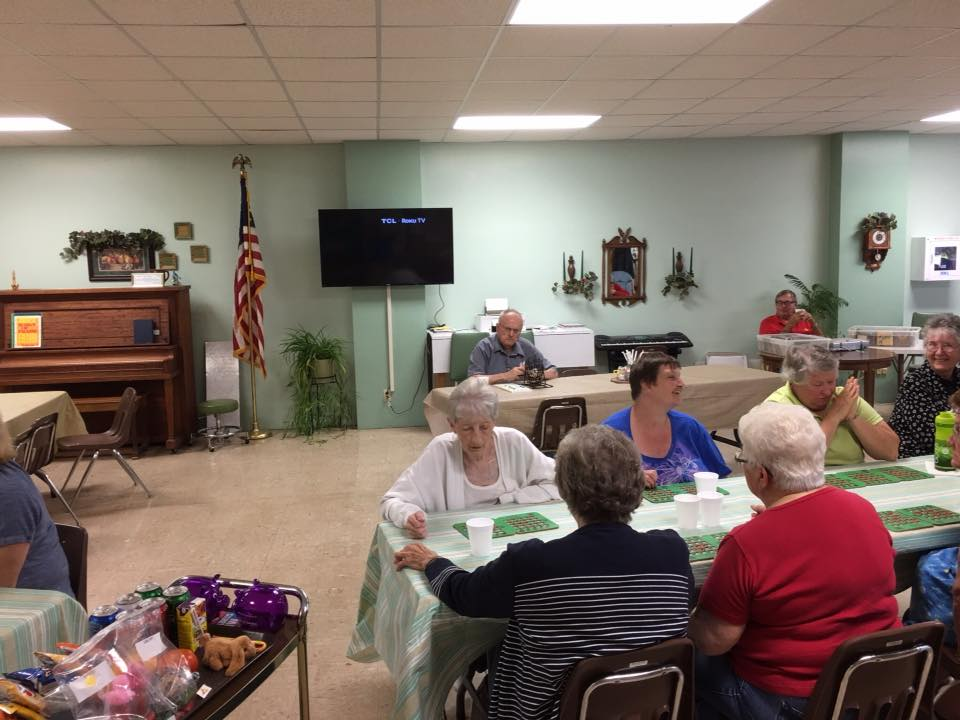 Bingo at Hebron Senior Center