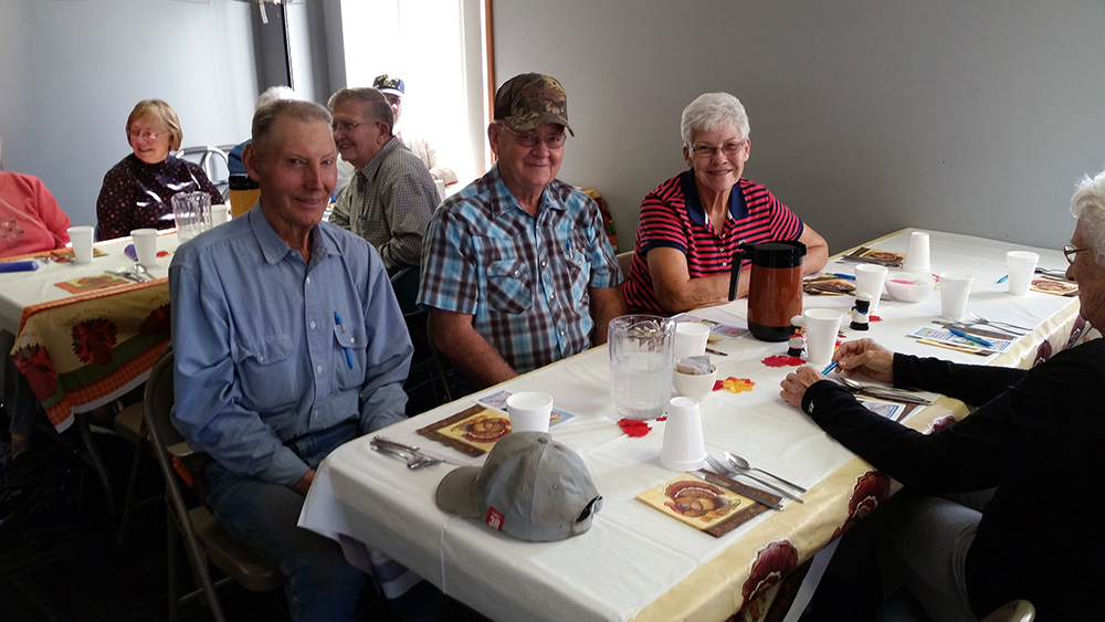 Patrons at Cortland Senior Center