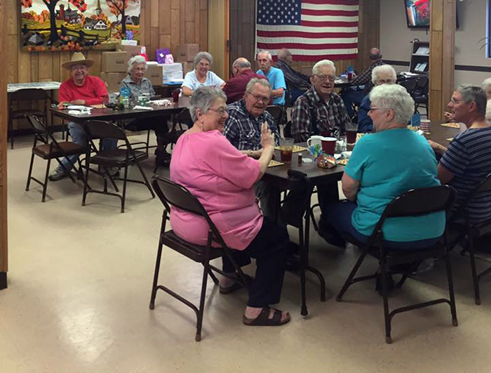 Bingo at Falls City Senior Center