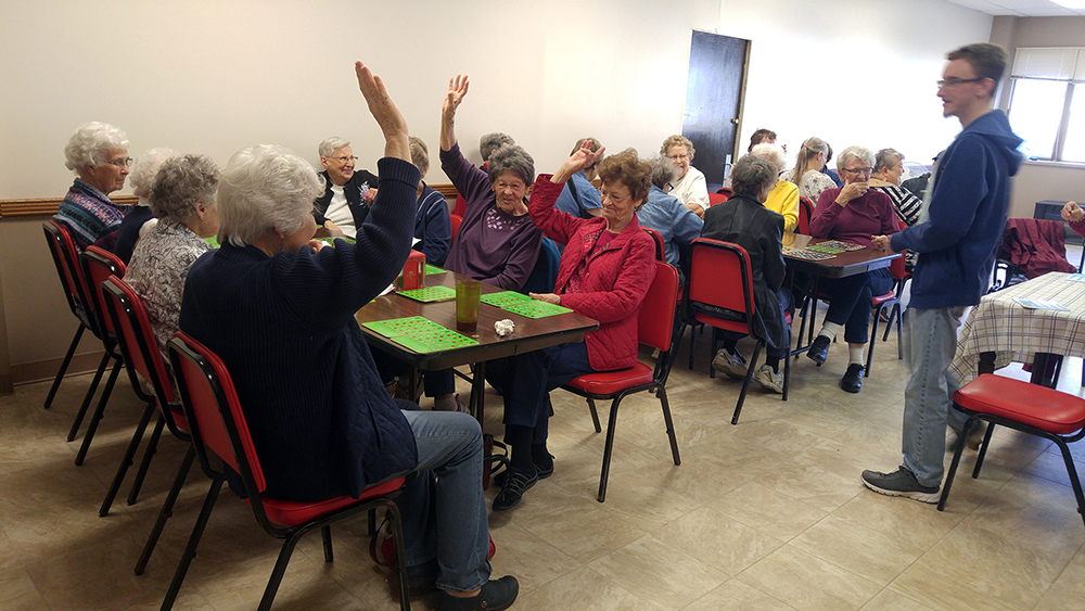 Bingo at Table Rock Senior Center