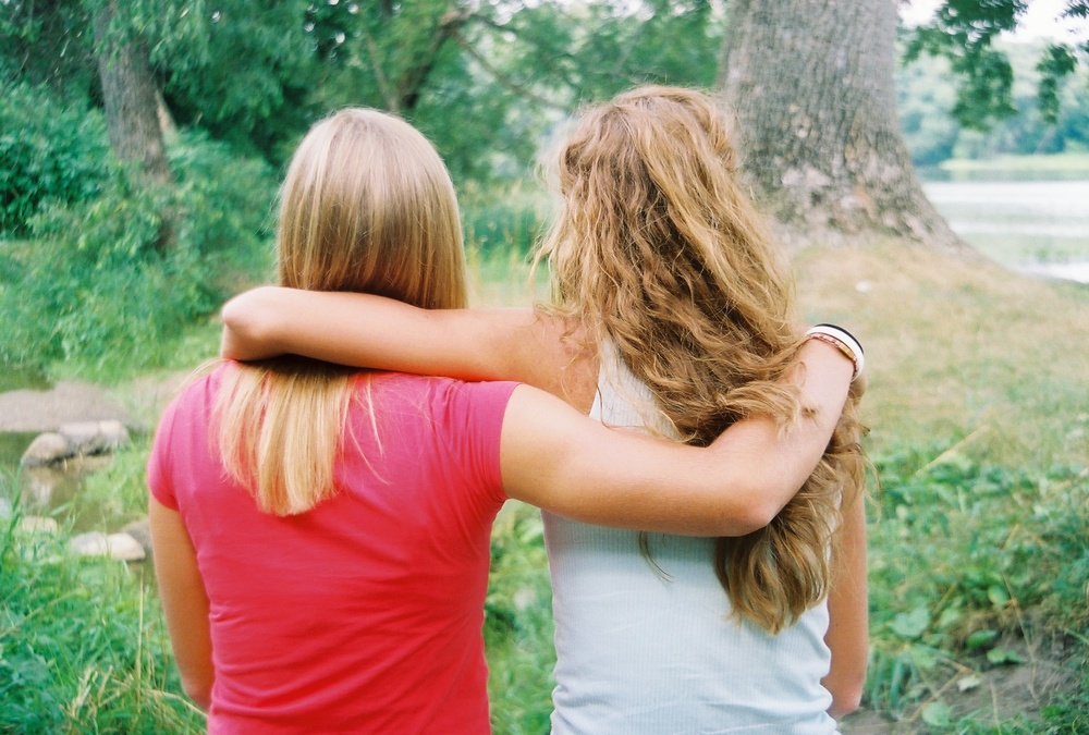 My friend Kaylee, standing by me after our senior year of high school. {2007 feels like forever ago.} Grateful for her. Grateful for you.