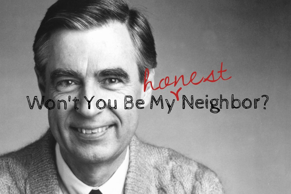 {Fred Rogers knew that being a good neighbor meant loving others just the way they are. But he also knew that being a good neighbor meant presenting ourselves just the way we are. Happy Birthday, Mister Rogers. Your legacy of neighborly love lives on. Even on the days I'd rather pretend I'm not Haggard Mom Barbie. Photo: Huffington Post}