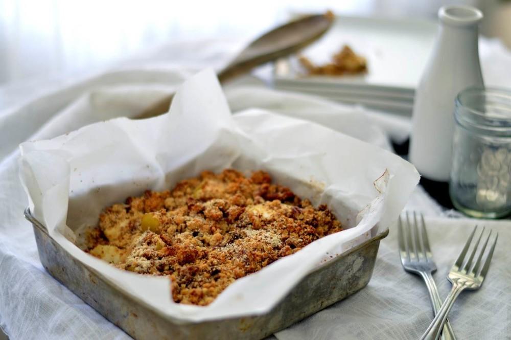 Paleo Tart Apple Crisp
