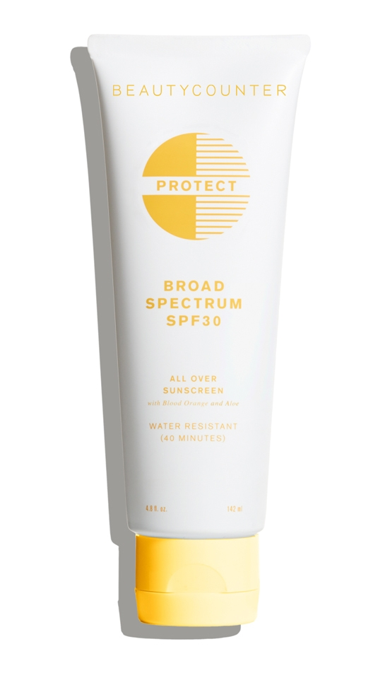 Beautycounter's Protect All Over Sunscreen SPF 30 - my everyday go-to sun protection!