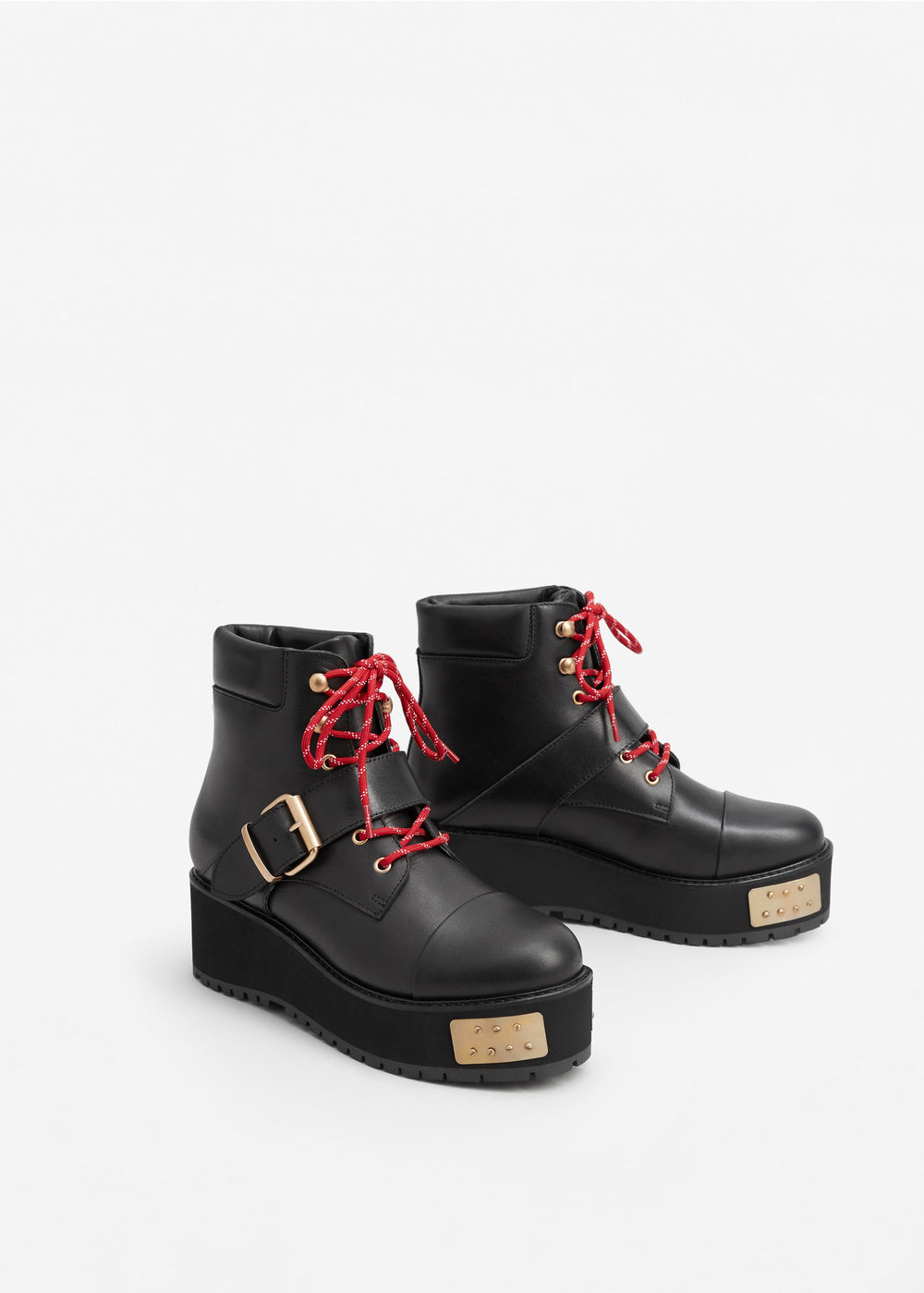 Combat Boots by Mango
