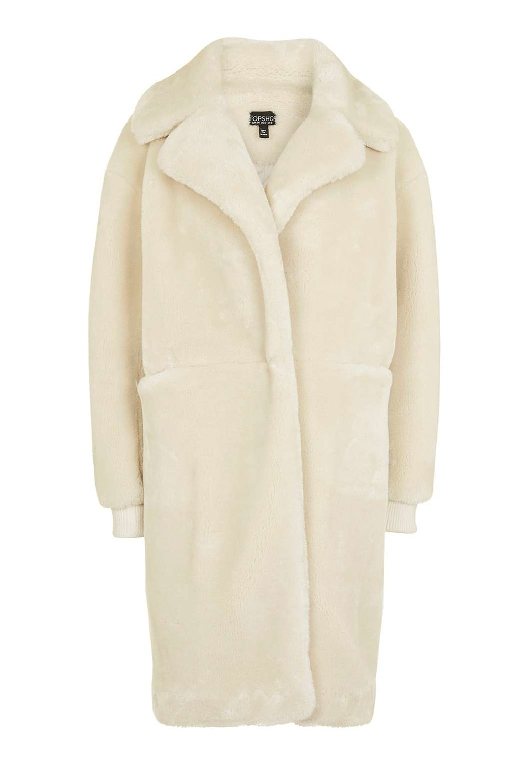 Fake-Fur Teddy by Topshop