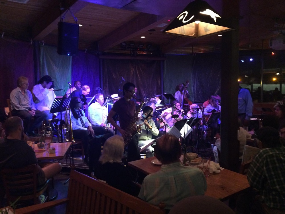 Charlie Owens Big Band at Typhoon - Santa Monica, CA September 2015