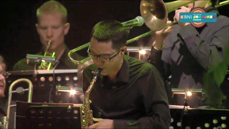 2016 Java Jazz Festival with the Ron King Big Band - Jakarta, Indonesia March 2016