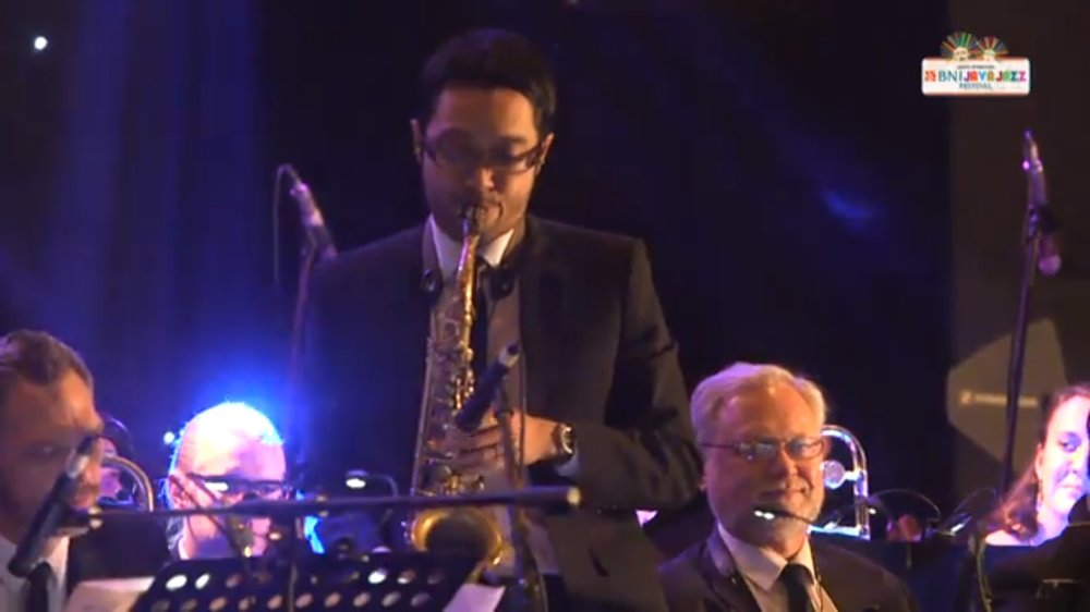 2017 Java Jazz Festival with the Ron King Big Band - Jakarta, Indonesia March 2017