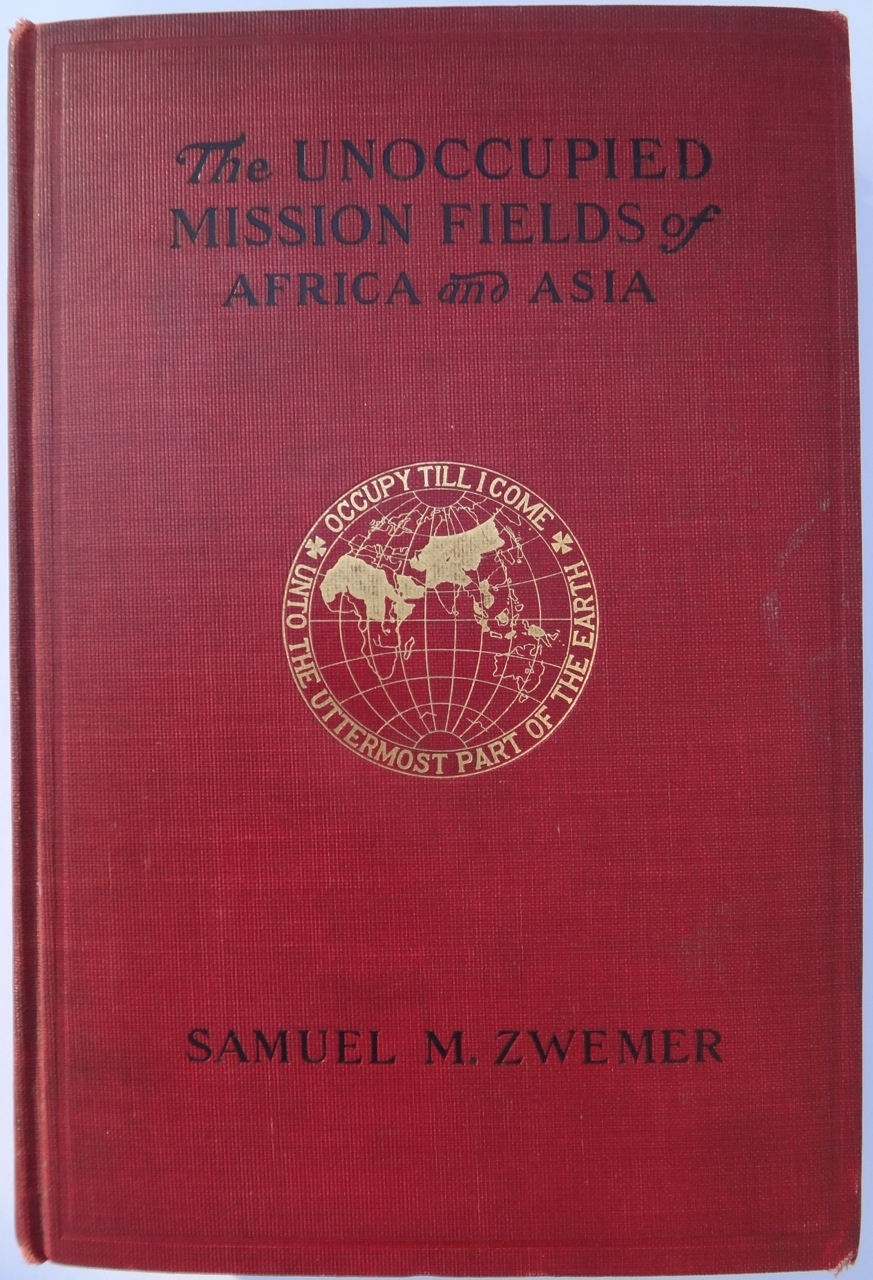Zwemer book cover