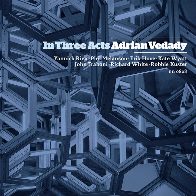 CD Design for Adrian Vedady. Photography by  Richmond Lam .