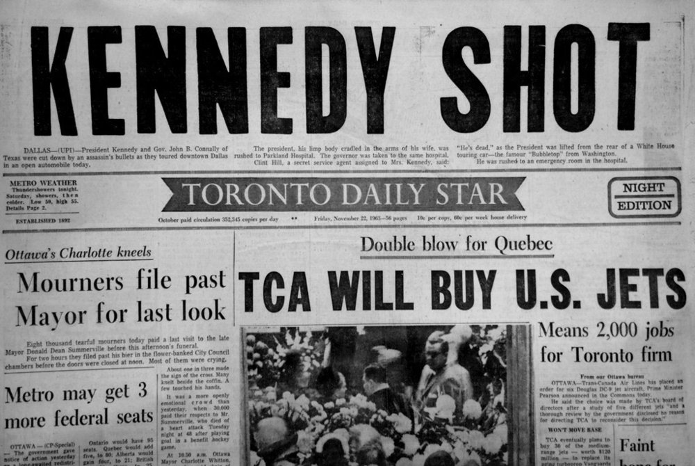 The Toronto Daily Star, 1963.