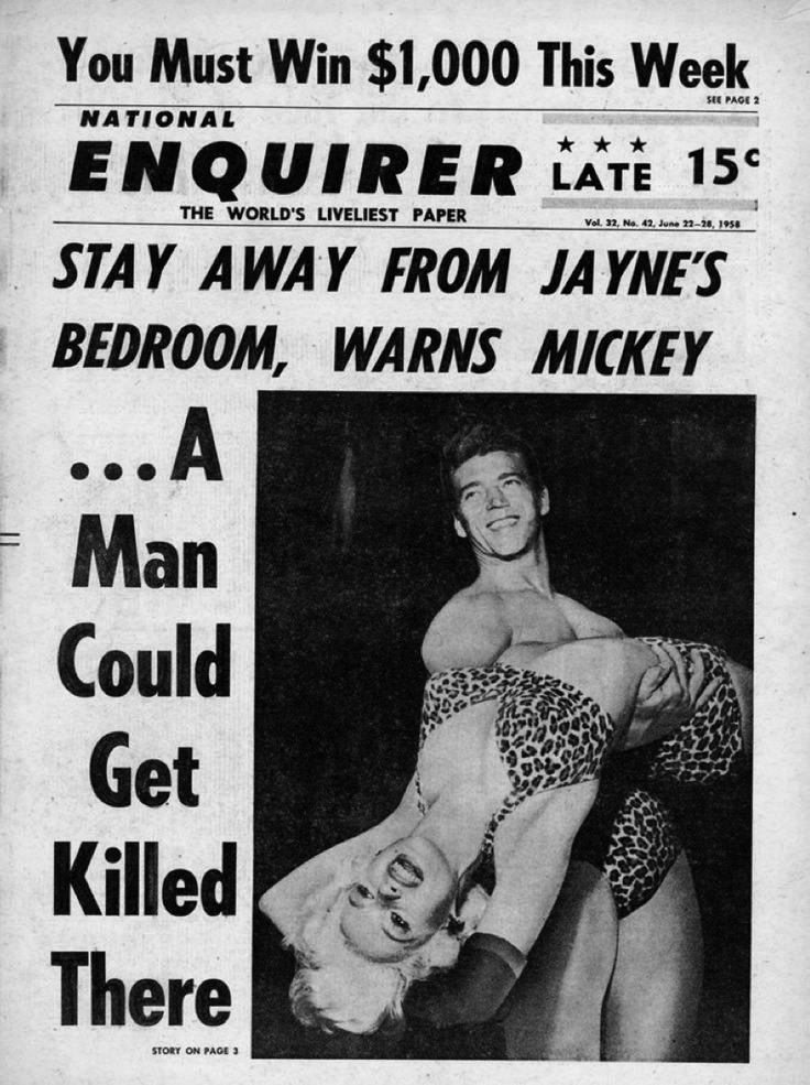 The National Enquirer, 1958.