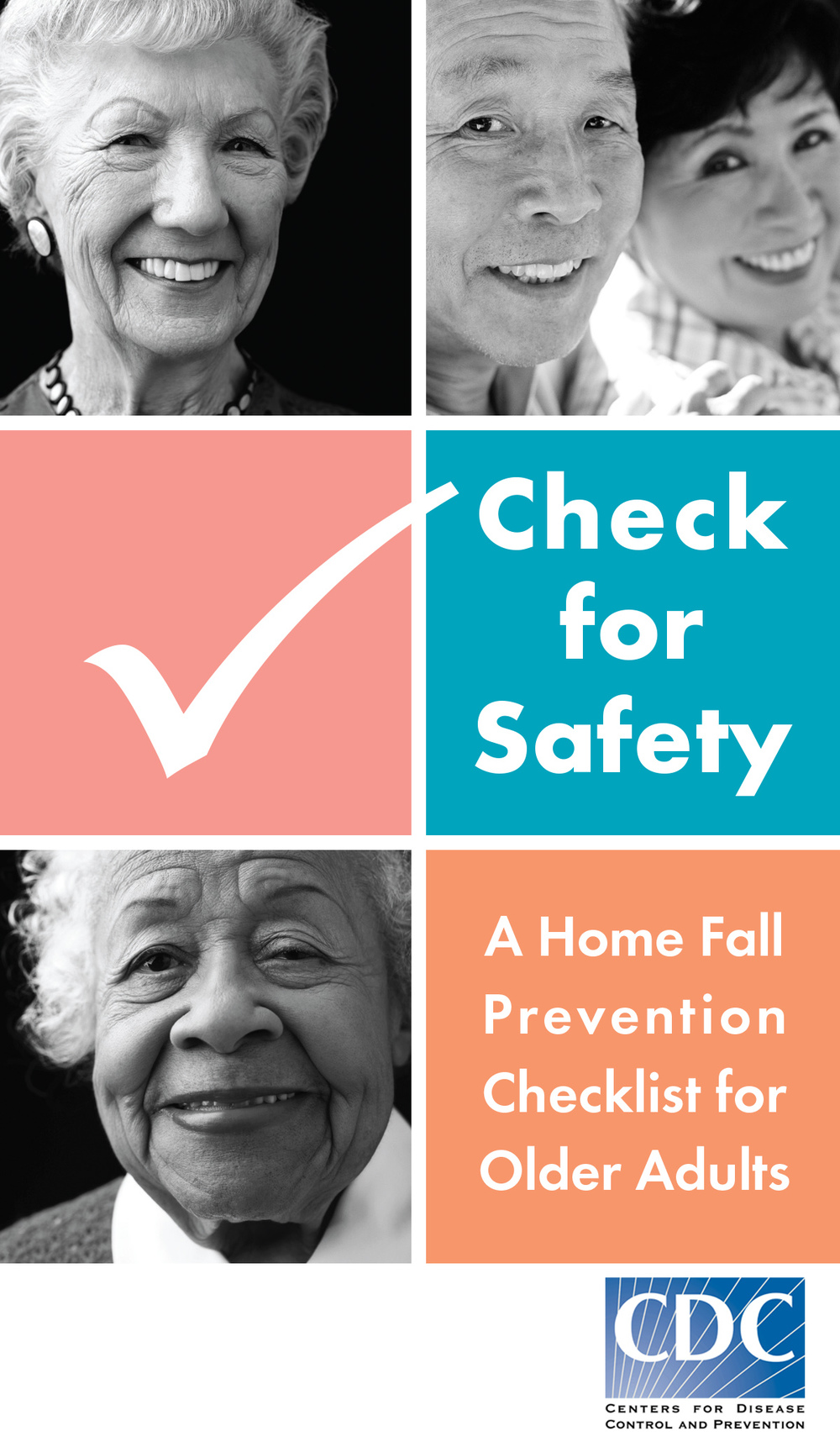 Fall Prevention Checklist provided by The Centers for Disease Control and Prevention