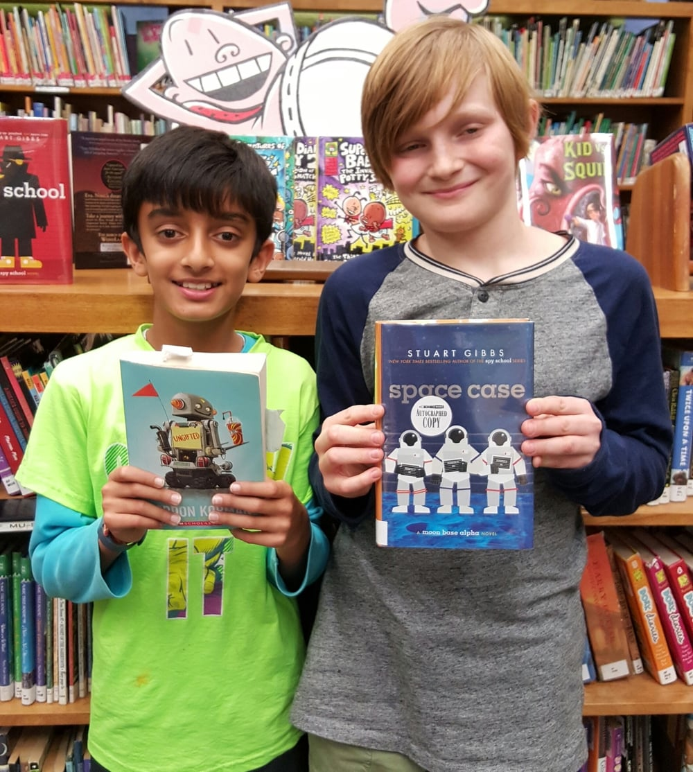 Penn and Ulysses share their favorite books.