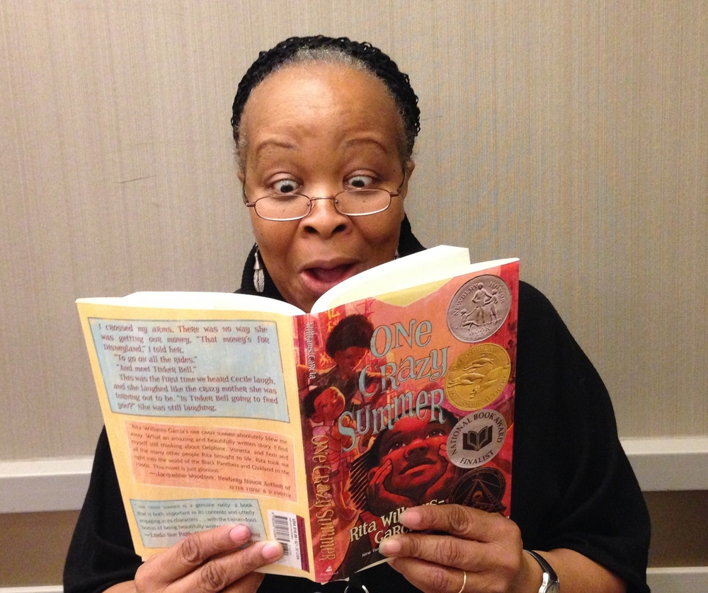 Writer  Rita Williams-Garcia