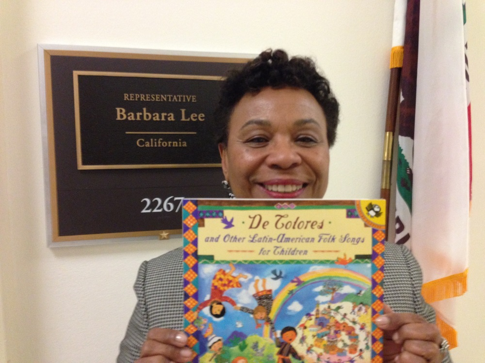 Congresswoman Barbara Lee of Sacramento, California