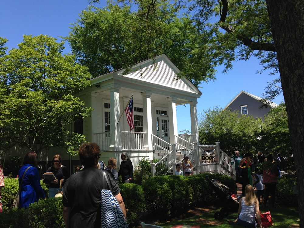Book Club for Kids at the Nantucket Book Festival