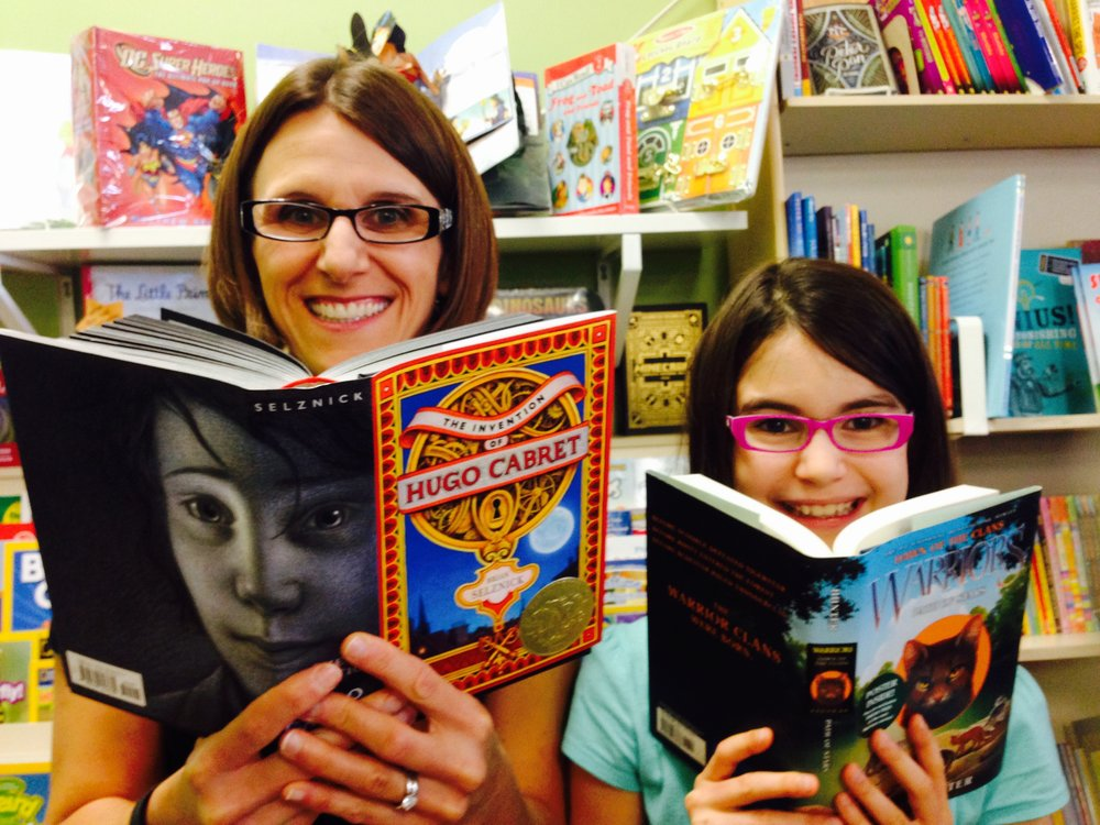 The Mother/Daughter Book Club meets at One More Page bookstore in Virginia