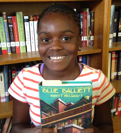 Destiny from DC likes books that improve her vocabulary!