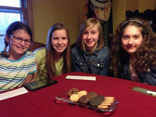 The Book Worm Girls Book Club from Omaha, Nebraska.