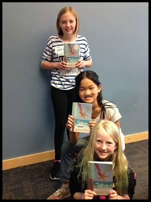 Laura, Leah, and Juliet (top to bottom) at the Mamie Doud Eisenhower Library in Broomfield, Colorado