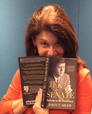 Mindy Shaw is the voice of C-Span Radio. Her favorite book is the one her husband Jack Shaw wrote.