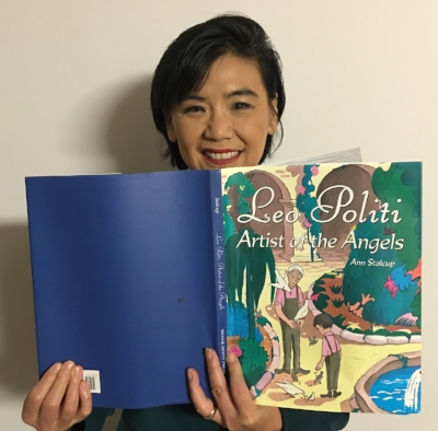 Congresswoman Judy Chu from Southern California is our celebrity reader