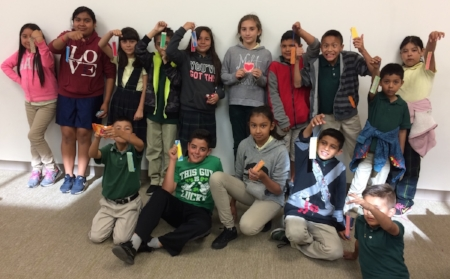 The after school readers at East Rancho Dominguez Library in Compton, California.