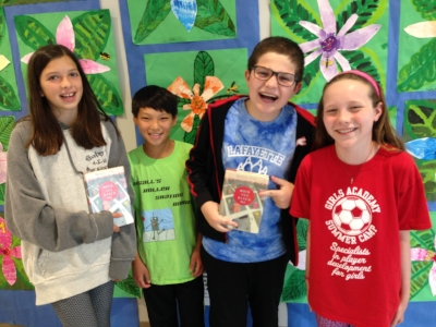 Molly, Marcus, Jack, and Kathleen are 5th graders at Lafayette Elementary School in Washington, DC