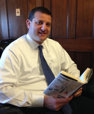 Congressman  David Valadao  is a dairy farmer in California's central valley with more than 100 Holstein and Jersey milk cows.