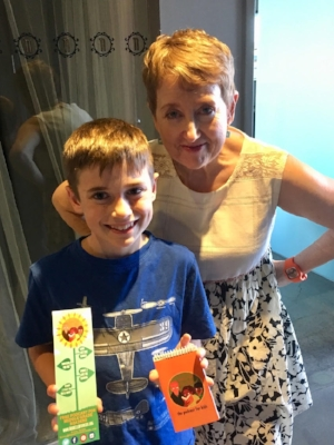 Brady from Phoenix, Arizona collected some Book Club for Kids swag!