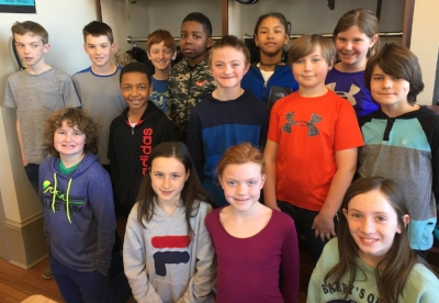 Fifth grade readers at Capitol Hill Day School