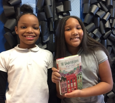 Tomii and Iyana are 5th graders at Excel Academy Public Charter School in Washington, DC