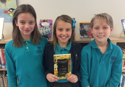 Meredith, Daphne, and Ulrich are 5th graders at the British International School in Washington, DC