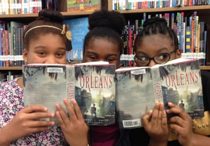 Dainicia, Naomi, and Nya are 7th graders at Benjamin D. Foulois Creative and Performing Arts Academy in Maryland.