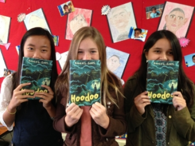 Lina Nguyen, Kyra Johnson, and Ava Muniz are 6th graders at Sonora Elementary School in Costa Mesa
