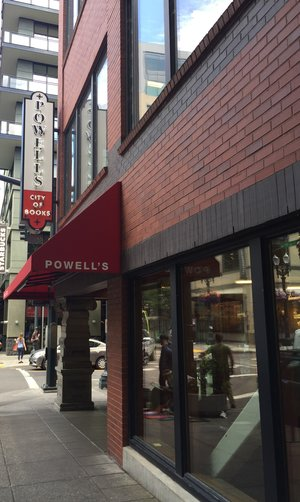 Powell's Books  in downtown Portland, Oregon